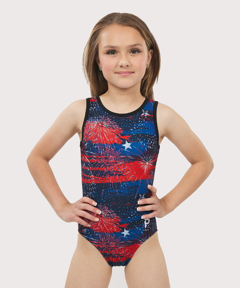 Plum Summer Thunder Traditional Leotard