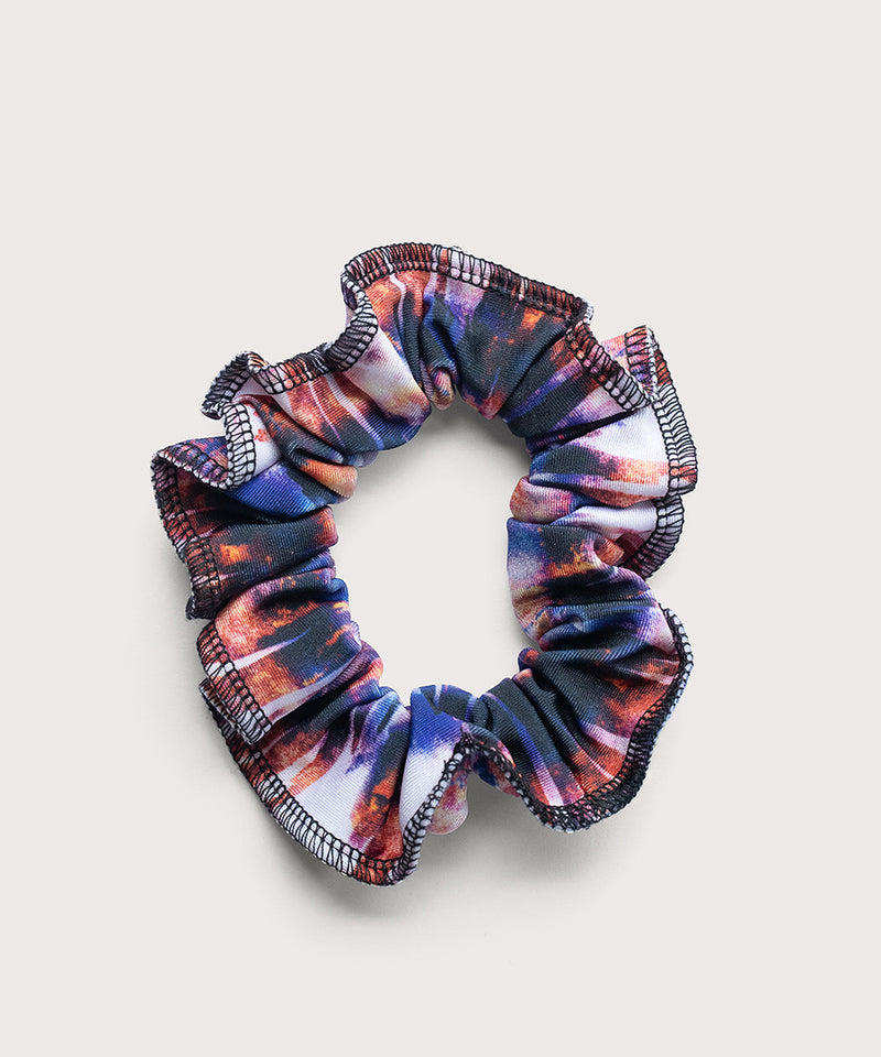 Plum Blurred Scrunchie