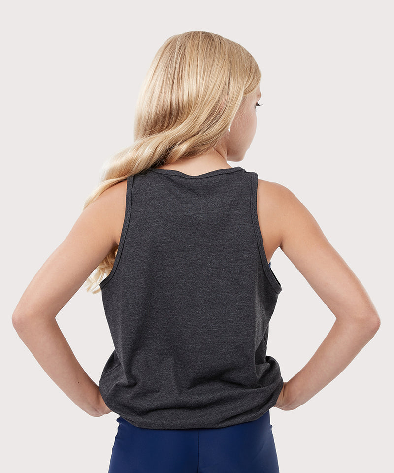 "Plum Gymnast ""Youth"" Tank Top"