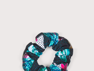 Plum North Shore Scrunchie