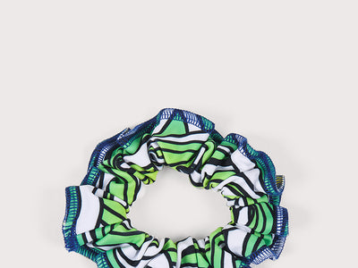 Plum Pipeline Scrunchie