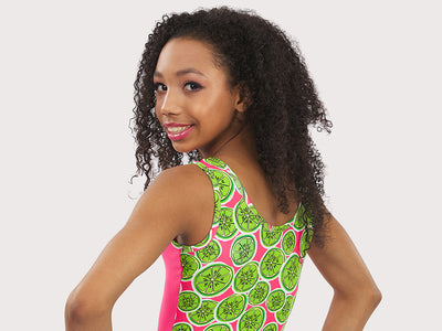 Plum Kiwi Cutie Flip Side Leotard