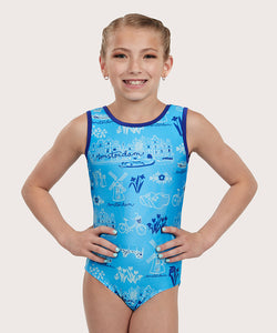 Plum Holland Daze Traditional Leotard