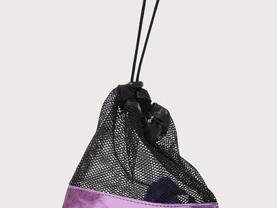 Plum Iridescent Grip Bag