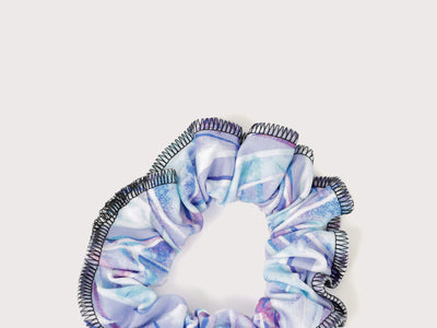 Plum Icicles Scrunchie