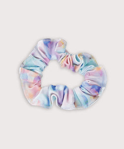 Plum Winter Garden Scrunchie