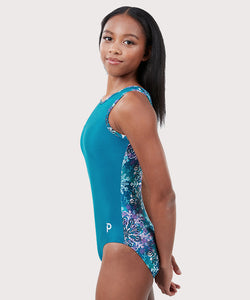 Plum Flurry Flip Side Leotard