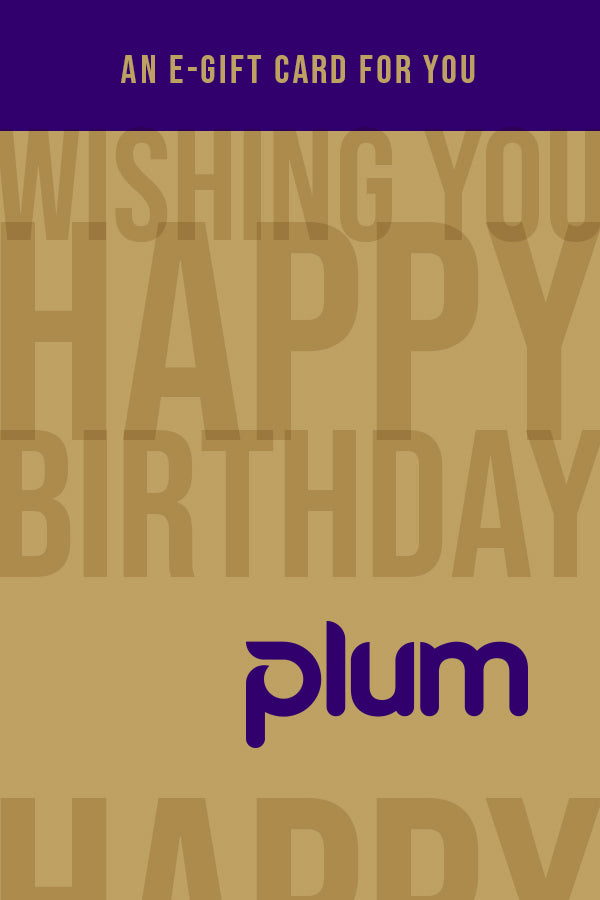 Plum Happy Birthday E-Gift Card
