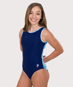 Plum Nautilus Flip Side Leotard