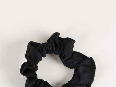 Plum Back to Basics Raven Scrunchie