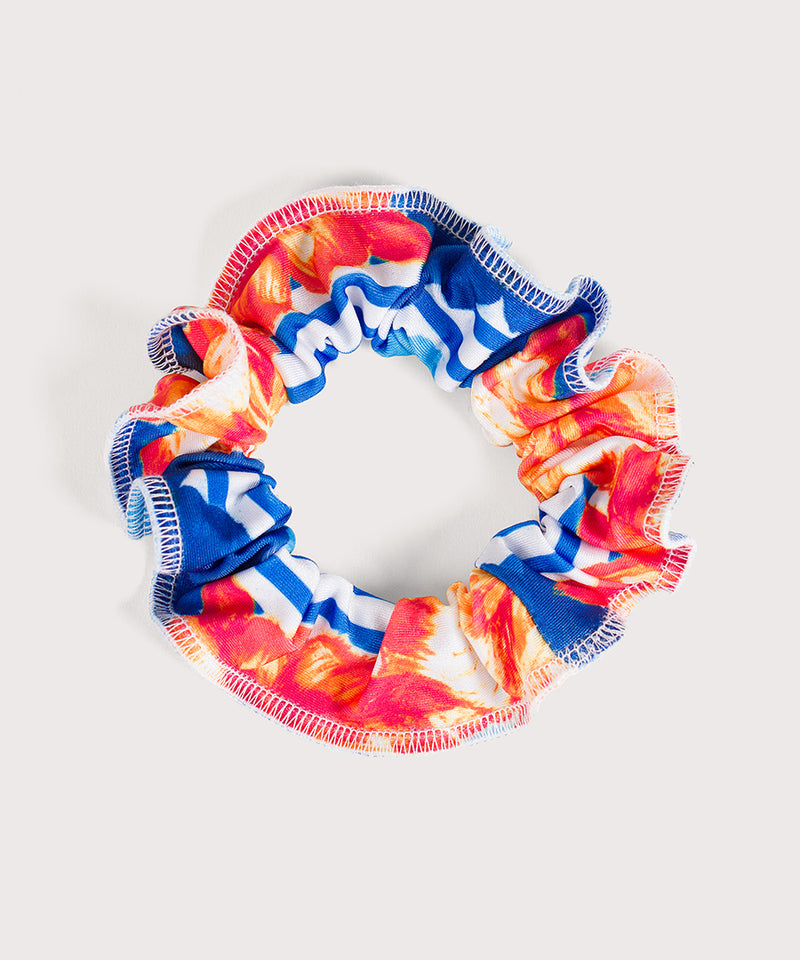 Plum Sail Away Scrunchie
