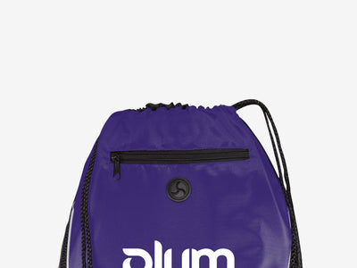 Plum Cinch Sack