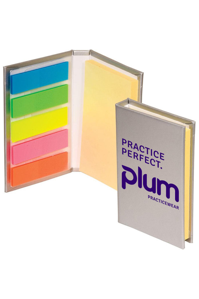 Plum Micro Sticky Note Pad