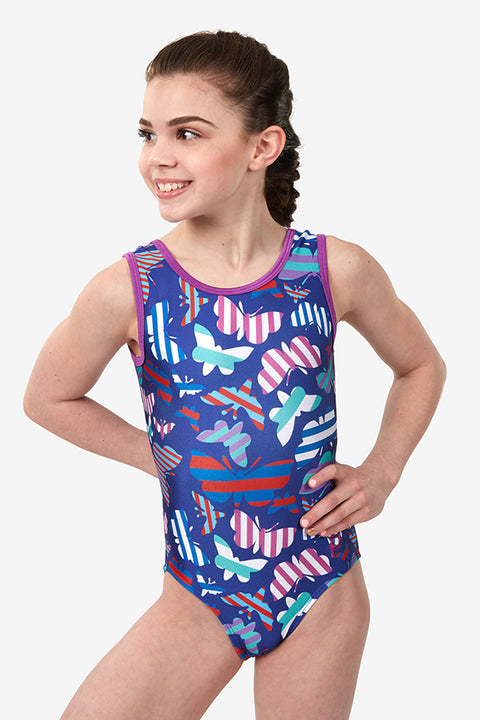 Plum Canacona Traditional Leotard
