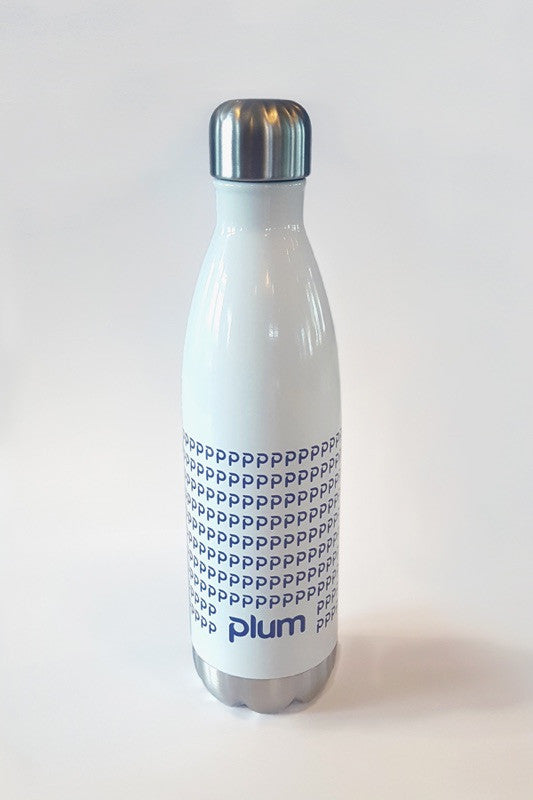 Plum Insulated Water Bottle