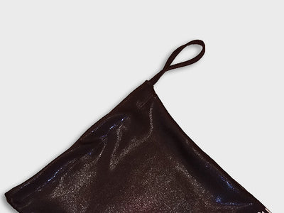 Plum Metallic Raven Grip Bag