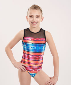 Plum Yuma Mesh Leotard