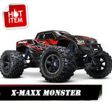 X-MAXX MOSTER TRUCK RED