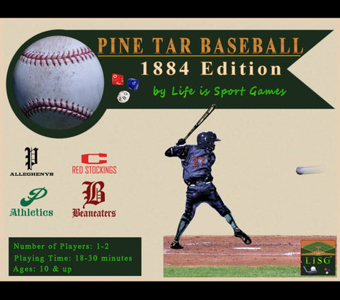 Pine Tar Baseball 1884 Edition - Complete Game