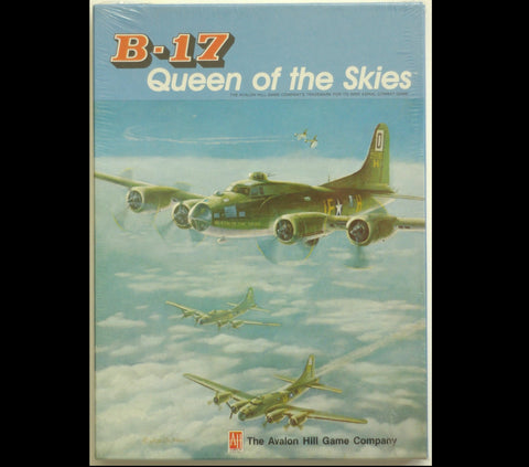 B-17 Queen of the Skies Vintage Avalon Hill Game