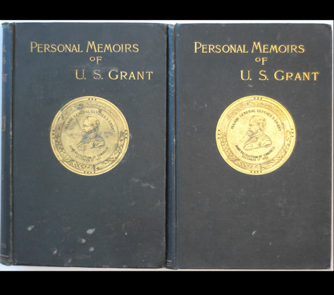 1885 GENERAL GRANT Civil War MEMOIRS Maps FIRST Ed.