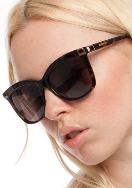 BALMAIN : ACETATE SQUARE SUNGLASSES, BROWN TORTOISE $346 (SOLD OUT)