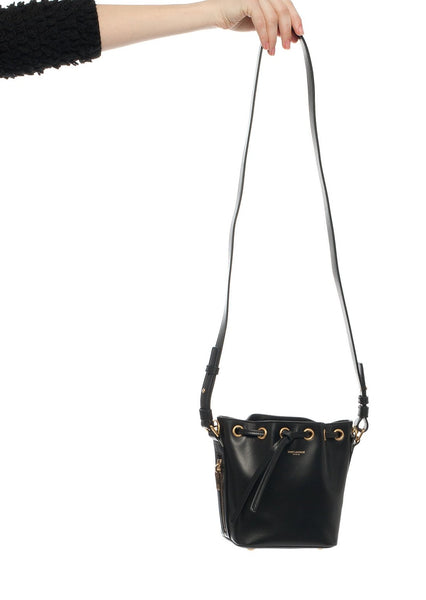 SAINT LAURENT : EMMANUELLE SMALL BUCKET BAG, BLACK $1,350 (SOLD OUT)