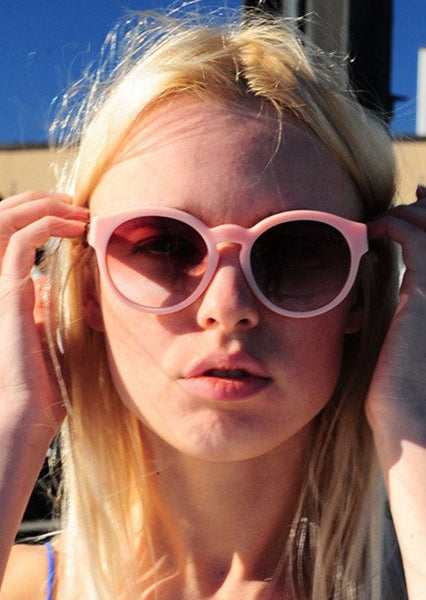 STELLA McCARTNEY : ROUND SUNGLASSES, PINK $280 (SOLD OUT)
