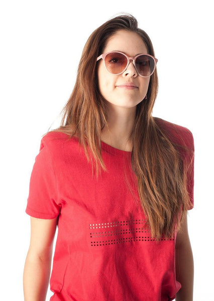 STELLA McCARTNEY : ROUND SUNGLASSES, PINK MULTI $290 (SOLD OUT)