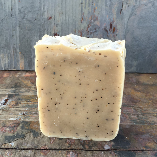 Coffee Cold Process Soap (Scented)