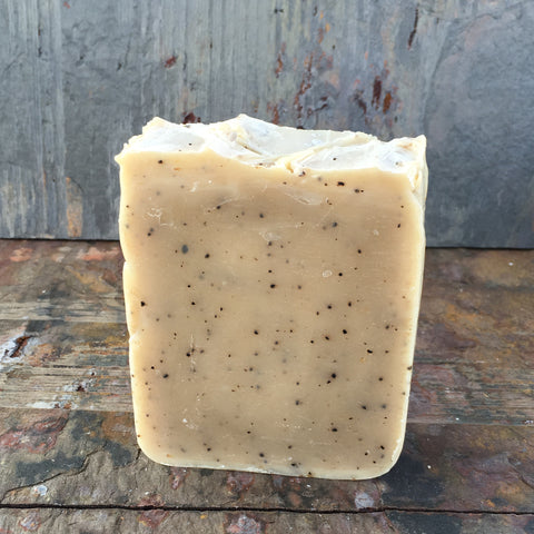 Coffee Cold Process Soap (Unscented)