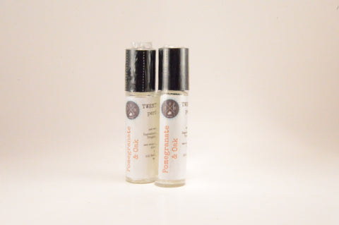 Pomegranate Oak Perfume Oil