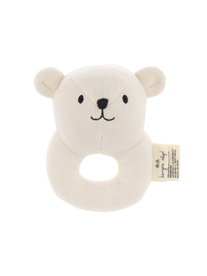 KONGES SLOJD Quro Mini Bear Rattle
