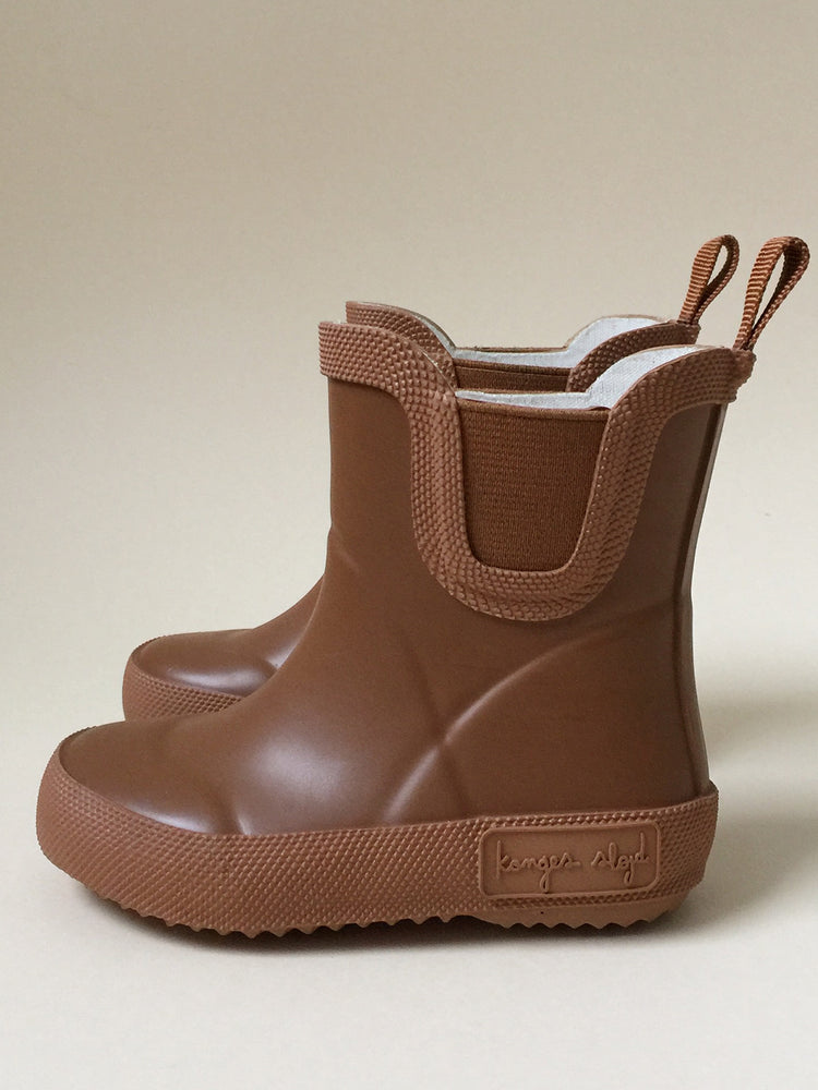 KONGES SLOJD Welly Rubber Boots - Caramel