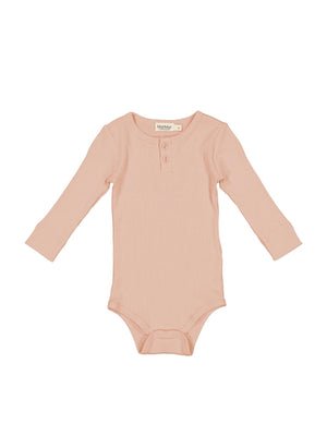 MARMAR COPENHAGEN Long Sleeve Bodysuit - Light Cheek