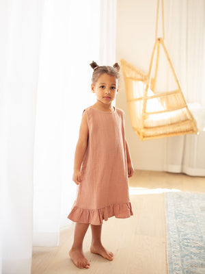 RUFFETS & CO Amelia Dress - Clay