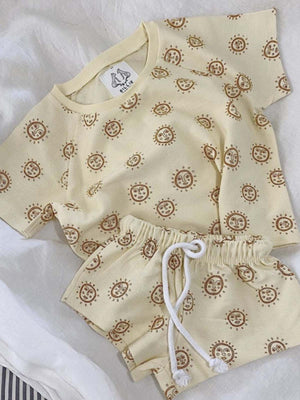 BY BILLIE Suns Of Arley Set - Cream/Rust