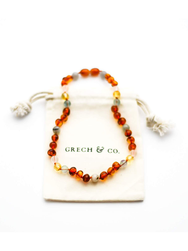 GRECH & CO Baltic Amber Necklace - Willow