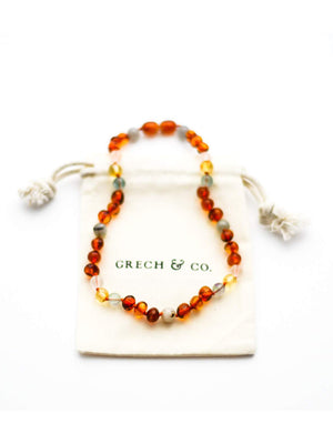 Load image into Gallery viewer, GRECH & CO Baltic Amber Necklace - Willow