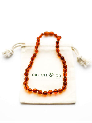 GRECH & CO Baltic Amber Necklace - Strength