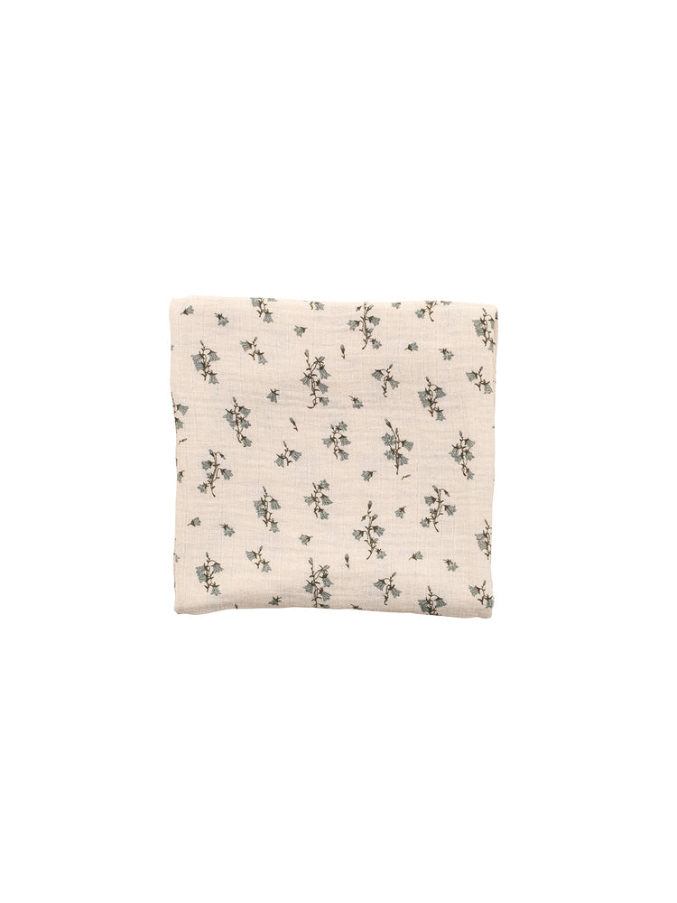 Load image into Gallery viewer, GARBO & FRIENDS Bluebell Muslin Swaddle Blanket