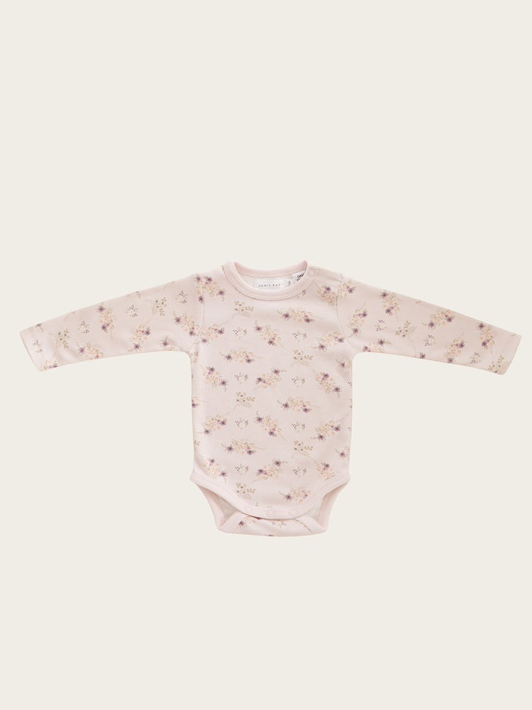 Load image into Gallery viewer, JAMIE KAY Bodysuit - Sweet Pea Floral (Last One - Size 3-6m)