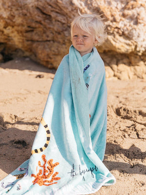 THE BEACH PEOPLE Buccaneer Kids Beach Towel