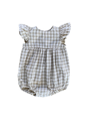 RUFFETS & CO Willow Romper - Check