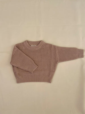 TINY TROVE Clayton Knit - Almond