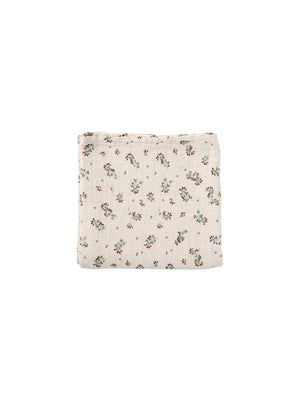 Load image into Gallery viewer, GARBO & FRIENDS Clover Muslin Swaddle Blanket