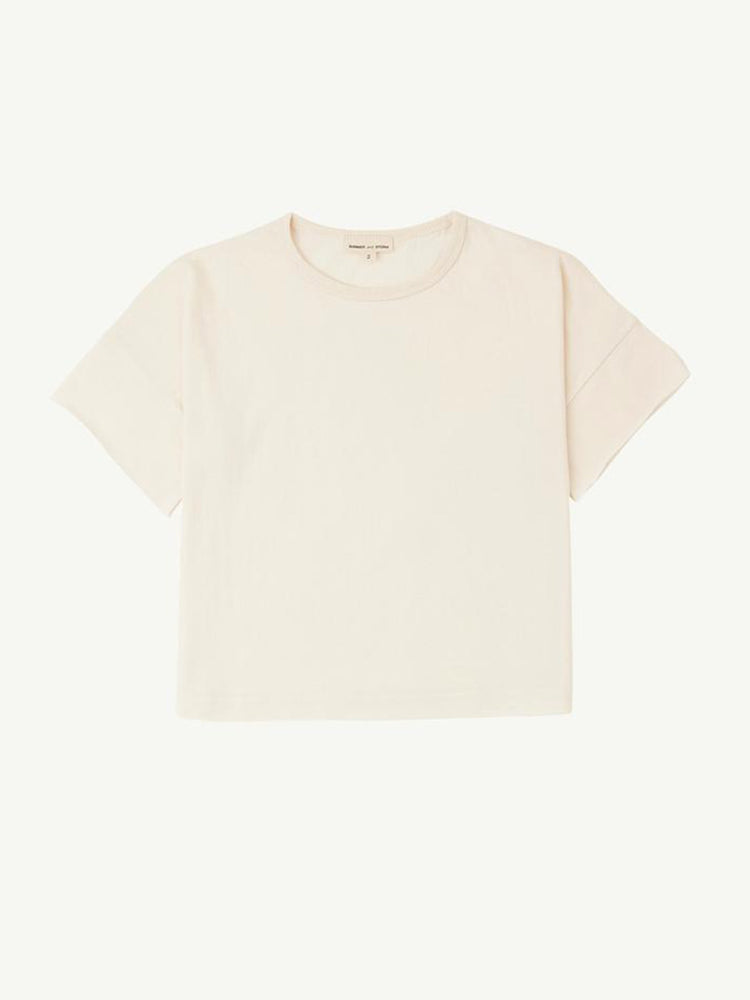 SUMMER AND STORM Box Tee - Natural