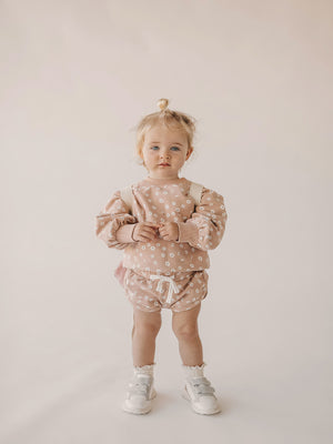 Load image into Gallery viewer, JAMIE KAY Penny Sweat - Daisy (Last One - Size 0-3m)