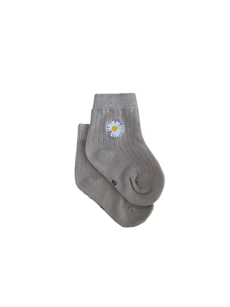 TINY TROVE Daisy Socks - Sand