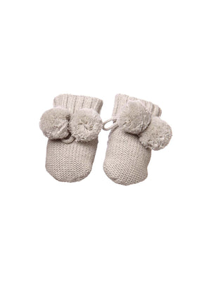 Load image into Gallery viewer, TOSHI Organic Baby Booties - Dove